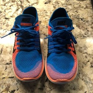 Nike Women's Free Flyknit 4.0 9 Good used Cond